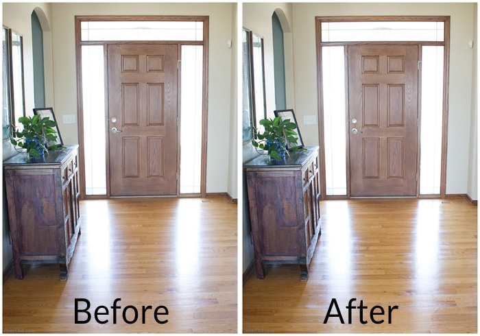 how to clean my shiny laminate floors without streaks