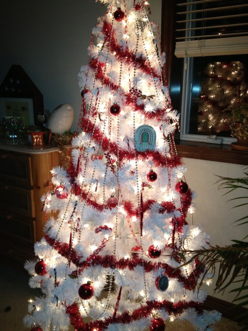 One of the Brenner Christmas Trees -- an Ohio State, Buckeye tree
