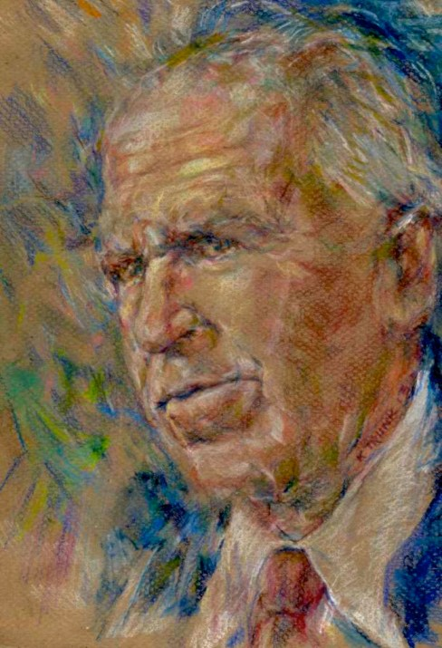&quot;John Brennan&quot; by artist Katherine Trunk | Link to full-size image