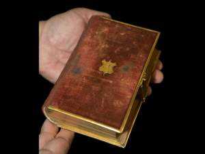 President Abraham Lincoln's Bible used by President Obama