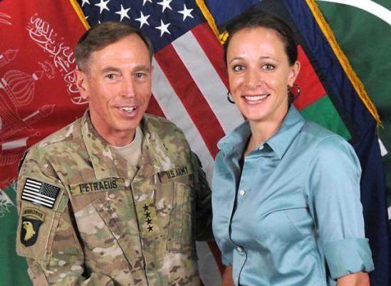 petraeus with woman