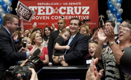 ted cruz victory night 2012