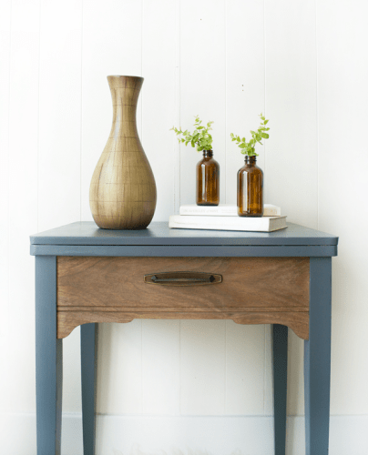 Grey Sewing Table Makeover