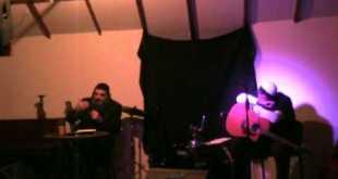 רועי אדרי בהופעה עם הרב עופר גיסין