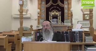 """הרב אליהו גודלבסקי – """"איש הישראלי צריך תמיד להסתכל בהשכל של כל דבר"""" – שיעור מלא"""