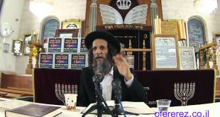 אחדות ישראל-התנאי של הגאולה-הרב עופר ארז