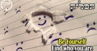 Be yourself | Find who you are