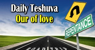 Daily Teshuva | Out of love