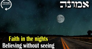 Faith in the nights | Believing without seeing