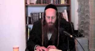 Li'kutay Halachot-Exile of Egypt-Understanding hardship  4-4-2014