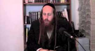 Li'kutay Halachot-The holiness of The Land of Israel  Pt1  4-1-2014