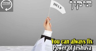 You can always fix  | Power of Teshuva