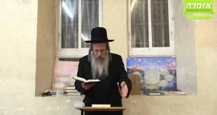 הרב אליהו גודלבסקי באידיש- זעך האלטען אין רעב'ן – שיעור מלא