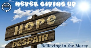 Never giving up | Believing in the mercy