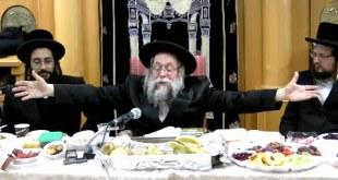 """רבי יצחק לעזער בסעודת ט""""ו בשבט ביבנאל עיר ברסלב"""