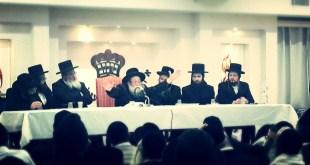הרב יצחק לעזער בדרשה לחסידי ברסלב ביבנאל