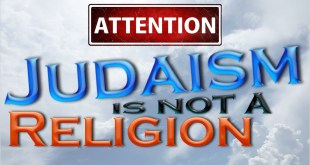 Judaism Is Not A Religion – It Is A Relationship