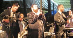 """מופע ענק של הזמר איציק אשל ור' אברהם ברדוגו בהילולת רבינו הקדוש תשע""""ז"""