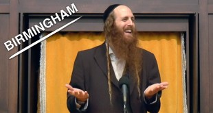 1/23/17 Rav Dror Live in Birmingham – Incredible Lecture on God's Love!