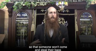 The Amazing story of Rabbi Nachman & the Suitcases
