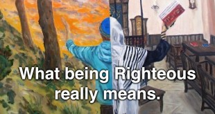 What Being Righteous Really Means