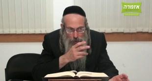 הרב אליהו גודלבסקי – מהי תשובה? – חודש אלול – התשעז – שיעור מלא