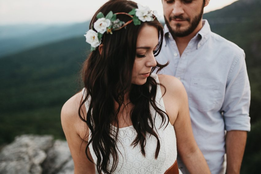 blue ridge parkway engagement