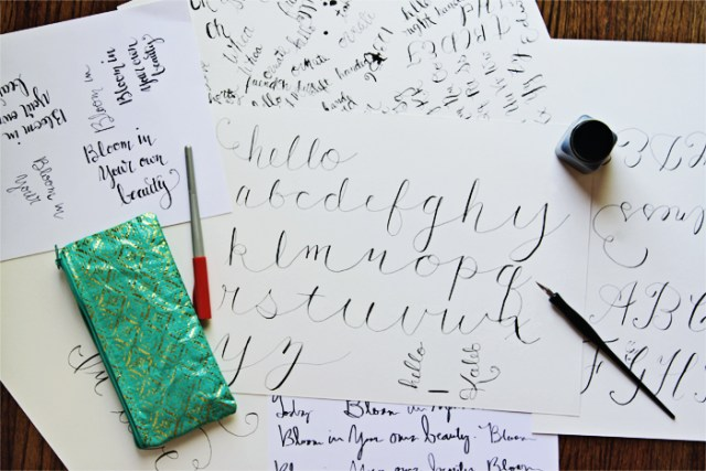 Brewed-Together-Learning-New-Skills-Calligraphy