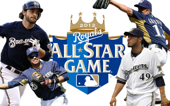 Odds of Each Player on Milwaukee Brewers' 25-Man Roster to Make 2012 MLB All-Star Game (1/6)