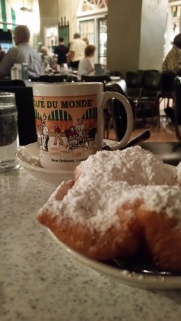 Coffee and Beinegts at Cafe du Monde