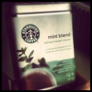 mint tea starbucks