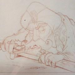 Sultan Draws His Blade