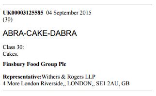 Abra Cake Dabra