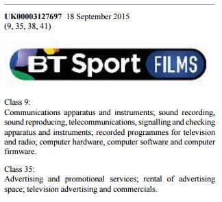 BT Sport Films