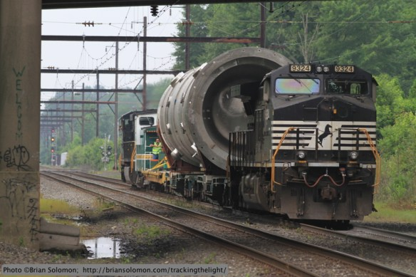 Norfolk Southern X999, Yardley, Pennsylvania.