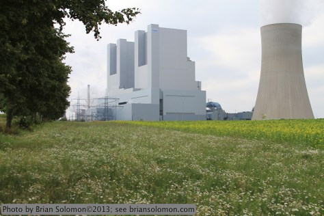 RWE Power's Neurath Power Station.
