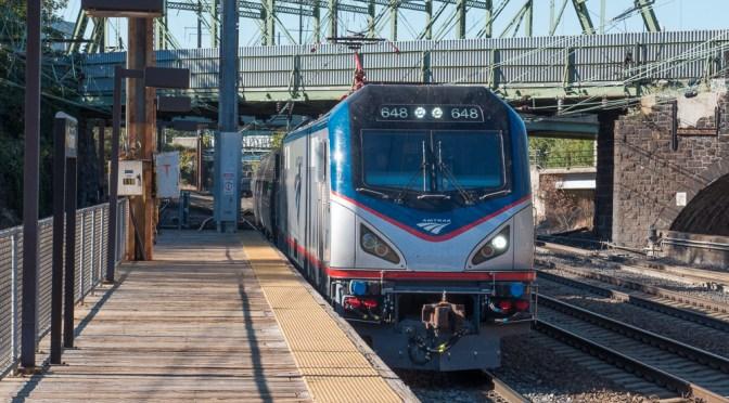 Tracking the Light Extra: Amtrak at Trenton, New Jersey—October 19, 2015