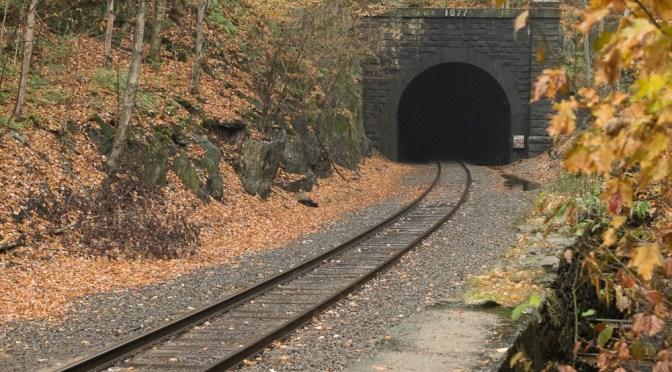 Hoosac Tunnel on Misty Evening—October 2015.