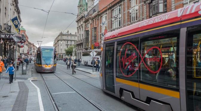 Tracking the Light EXTRA: VIRGIN LUAS on Dublin's Streets.