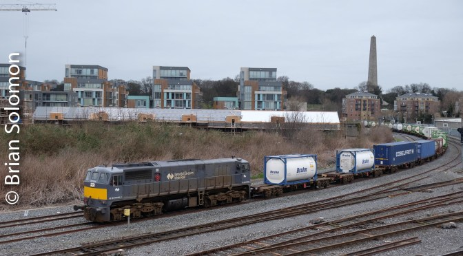 Irish Rail's IWT at Islandbridge Junction; Lee Graduated ND Filter Experiment.