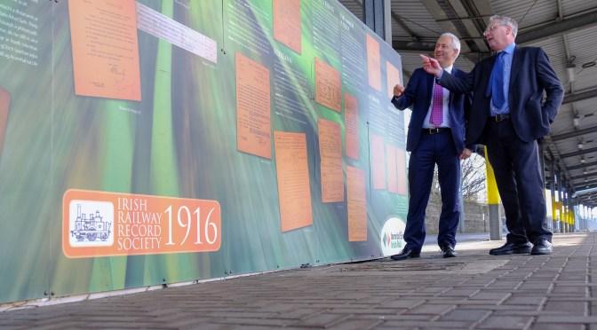 Tracking the Light EXTRA: New Irish Railway Record Society Display at Heuston Station