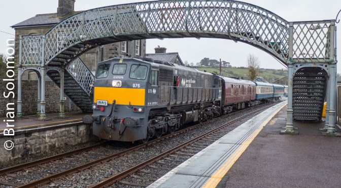 Irish Destinations: Stations visited during Irish Railway Record Society's 071 Tour—20 New Photos.