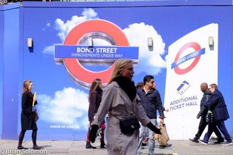 Bond Street Station at Oxford Street.