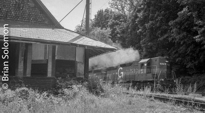 Pan Am Southern; retro photos of a retro railroad; old tech in 2016.