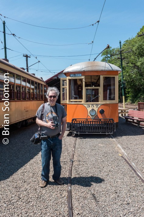 Lumix LX7 photo. Pop remembers Johnstown Traction Company 357 from its days in Pennsylvania.