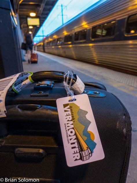 My bag at Trenton.  Lumix LX7 photo.