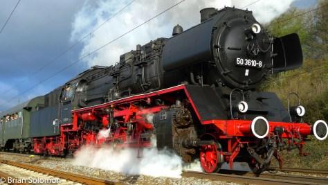 Mainline steam trips.