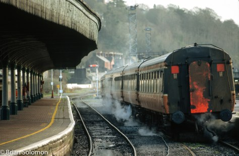 Full frame and uncropped; I exposed this view at Kent Station, Cork in January 2005 using a NikonF3 with 180mm lens.