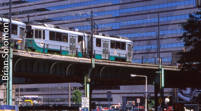 Green Line Elevated; The Way It was.