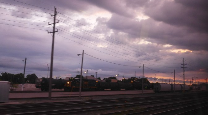 Sunrise from Amtrak 48 this Morning (16 July 2016)—uploaded from 448.
